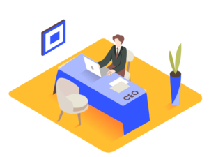 Qualitative outsourcing for CEO
